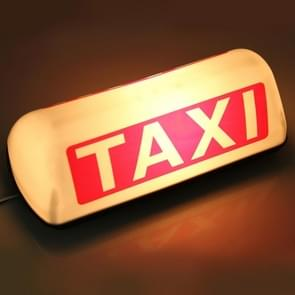 TAXI van helder Top Board dak teken lampje in de LED Cab Lamp 12V (Warm wit licht)