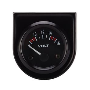 52mm Auto Gauge Car 8-16V Voltmeter