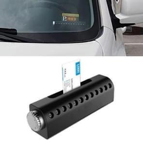 Creatief draaibare tijdelijke parkeer nummerplaat/mobiele telefoon/visitekaartje sleuf box