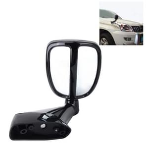 360 graden draaibare Rearview Parking kant Auxiliary blindehoekspiegel voor grensoverschrijdende land Car(Black)