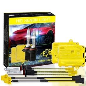 One Set 9005 HB3 AC 12V 55W 5500LM IP65 Waterproof Xenon Lamp  6000k Car Light Headlight HID Xenon Bulb Kit