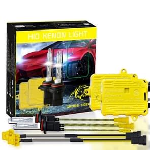 One Set 9006 HB4 AC 12V 55W 5500LM IP65 Waterproof Xenon Lamp  6000K Car Light Headlight HID Xenon Bulb Kit