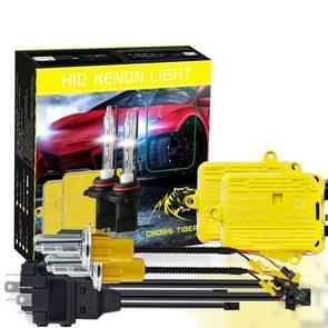 One Set 9003 H4 HB2 AC 12V 55W 5500LM IP65 Waterproof Xenon Lamps  6000K Car Light Headlight HID Xenon Bulb Kit