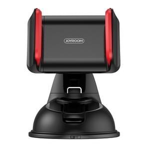 JOYROOM JR-OK1 Auto Single Pull Siliconen Zuignap Telefoonhouder (Zwart Rood)
