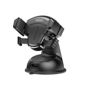 JOYROOM JR-OK2 T-type Auto Siliconen Zuignap Telefoonhouder (Zwart)