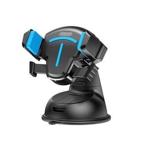 JOYROOM JR-OK2 T-type Auto Siliconen Zuigbeker telefoonhouder (Zwart Blauw)