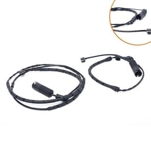 2 PCS Car Front Rear Brake Pad Sensor Cable 34351164371 34351164372 for BMW 3 Series E46 1998-2007