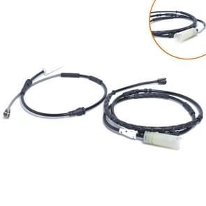 2 PCS Car Front Rear Brake Pad Sensor Cable 34356792562 34356792565 for BMW E84 2009-2012