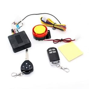 Motorcycle Smart Unidirectional Security Alarm System with Remote Control / Key