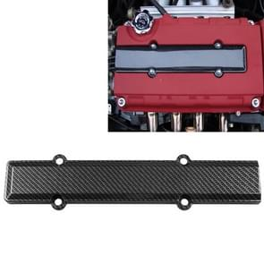 ABS Carbon Fiber Look Valve Cover Spark Plug Insert for Honda