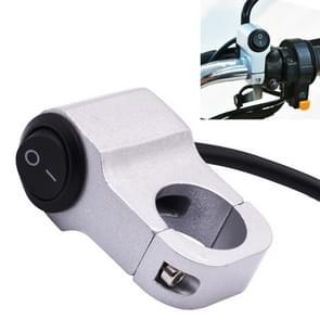 Motorfiets koplamp Auxiliary lichte aluminiumlegering Switches met Lock