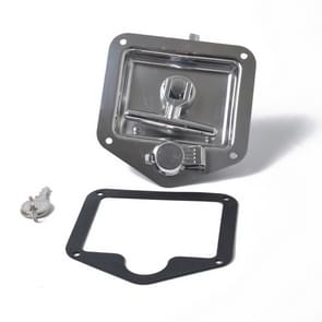 Folding T Handle Lock Stainless Steel Flush Mount Tool Box for Trailer / Yacht / Truck