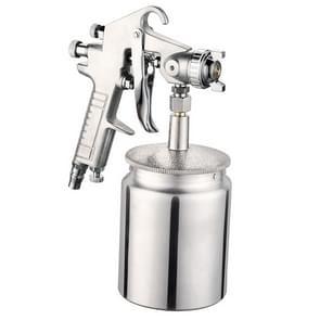 W-77 Paint Spray Gun Sprayer lower Pot Pneumatic Tool for Home Car, Hole diameter: 3mm
