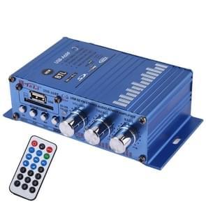 USB-A6RF HiFi Stereo audio versterker met afstandsbediening  ondersteuning MP3/SD/USB/FM/BTL uit