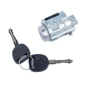 Car Ignition Lock Cylinder with Keys 12458191 for Chevrolet / Old Pontiac