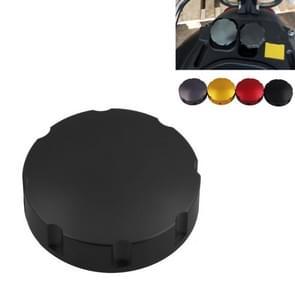 Gas Fuel Tank Filler Oil Cap Cover voor Piaggio Scooter VESPA GTS GTV LX Series (Zwart)
