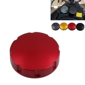 Gas Fuel Tank Filler Oil Cap Cover voor Piaggio Scooter VESPA GTS GTV LX-serie (Rood)