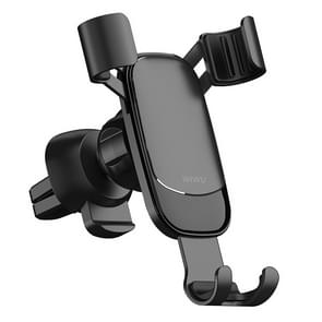 WIWU Exquisite Series PL200 Car Air Outlet Rotatable Gravity Mobiele Telefoon Beugel voor 4-6 inch mobiele telefoons