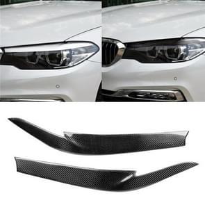 Auto Carbon Fiber Light wenkbrauw voor BMW 5-serie G38 528Li/530Li/540Li 2018