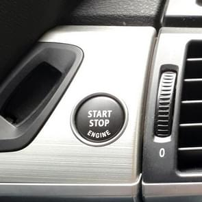 Car Engine Start Key Push Button Cover for BMW E90 Chassis (Black)