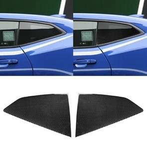 2 PCS Car Carbon Fiber Shutter Decorative Sticker for Chevrolet Camaro 2017-2019