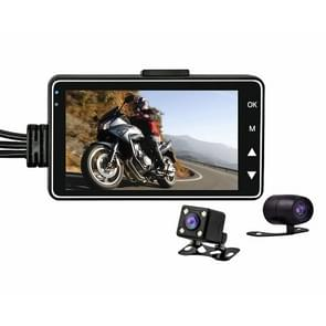 SE300 3 inch Full HD 1080P Video Motorcycle DVR, Support TF Card / Loop Recording / G-sensor