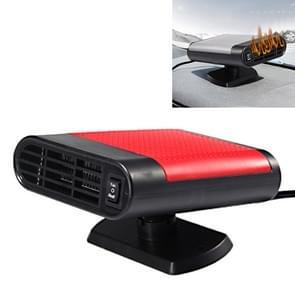 Car Heater Hot Cool Fan Windscreen Window Demister Defroster DC 24V, Ordinary Version (Red)
