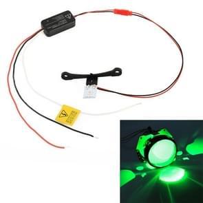 H1 DC9-16V/0.6 W duivel oog met SMD-5050 lamp kralen voor auto 3 0 inch HID projector lens (groen)