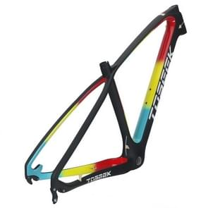TOSEEK MTB mountainbike frame volledige schorsing T800 Carbon Fiber fiets frame  grootte: 27 5 x 19 inch