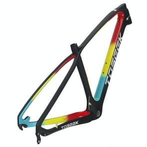 TOSEEK MTB mountainbike frame volledige schorsing T800 Carbon Fiber fiets frame  grootte: 29 x 17 inch