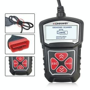 KONNWEI KW309 V309 V310 MS309 Code Reader OBD2 Scanner Diagnostic Tool(Zwart)