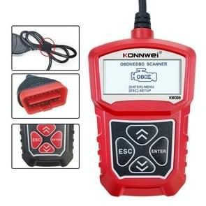 KONNWEI KW309 V309 V310 MS309 Code Reader OBD2 Scanner Diagnostic Tool(Rood)