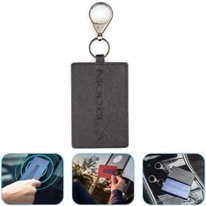 Draagbare autosleutel kaart Cover Case voor Tesla Model 3 (zwart)