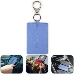 Draagbare autosleutel kaart Cover Case voor Tesla Model 3 (blauw)