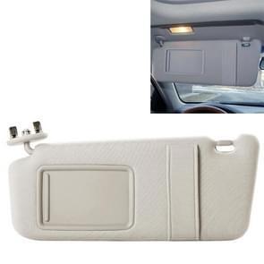 Car Left Driver Sun Visor 74320-06800-B0 for Toyota Camry(Beige)