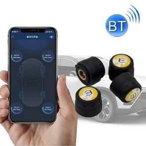 Bluetooth 4.0 TPMS Auto Externe bandenspanning monitoring drukdetectie systeem