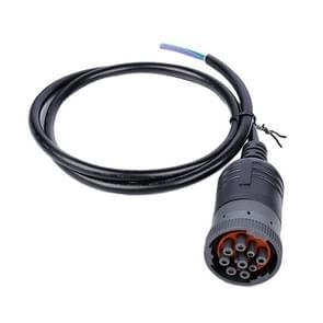 J1939-9Pin Trunk Diagnostic Interface Connect-kabel
