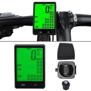 2 8 inch Engels Wireless Waterproof Cycle Computer LCD Kilometerteller