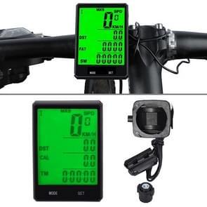 2 8 inch Engels Wire Waterproof Cycle Computer LCD Kilometerteller Snelheidsmeter