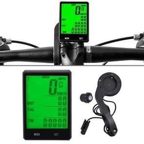 2.8 duim Engelse Draad Waterdichte Cyclus Computer LCD Snelheidsmeter Snelheidsmeter met Uitbreidingshouder