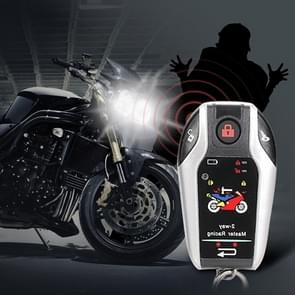 Universal Motorcycle Alarm Bidirectional Anti-theft Device met Inductie Afstandsbediening