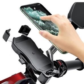 Motorfiets / Fiets Semi-automatische Contractie Fixing Bracket Telefoonhouder