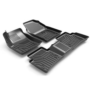 [US Warehouse] 3D TPE All Weather Car Floor Mats Liners voor Toyota Corolla 2019-2020 (1e & 2e rij)