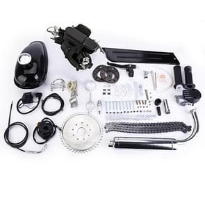 [US Warehouse] 80cc 2-takt High Power Engine Bicycle Motor Kit voor 24 inch / 26 inch / 28 inch motorfietsen (Zwart)