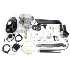 [US Warehouse] 80cc 2-takt High Power Engine Bicycle Motor Kit voor 24 inch / 26 inch / 28 inch motorfietsen (Zilver)
