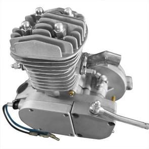 [US Warehouse] 50cc 2-takt High Power Engine Bicycle Motor Kit voor 26 inch / 28 inch motorfietsen (Zilver)