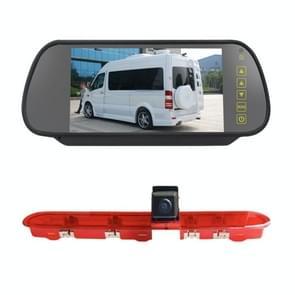 PZ471 Auto Waterproof 170 Graden Rem Licht View Camera + 7 inch Achteruitkijkmonitor voor Citroen / Peugeot / Toyota