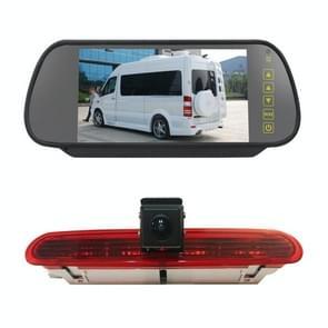 PZ472 Auto Waterdicht 170 Graden RemLicht View Camera + 7 inch Achteruitkijkmonitor voor Fiat / Opel