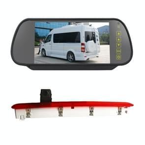 PZ473 Auto Waterdicht 170 graden RemLicht View Camera + 7 inch achteruitkijkscherm voor Volkswagen T6 Enkele Deur