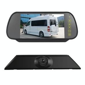 PZ474 Auto Waterdicht 170 graden Remlicht View Camera + 7 inch achteruitkijkmonitor voor Iveco Daily 4 Gen